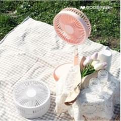 구스페리 탁상용 높이조절 무선충전 휴대용 선풍기