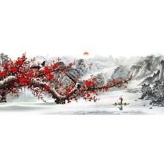 무릉도원 (패브릭) 보석십자수 50x120