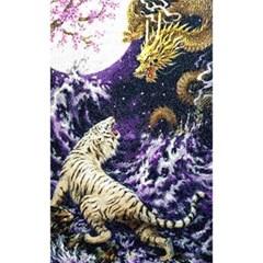 황룡백호 (패브릭) 보석십자수 60x95