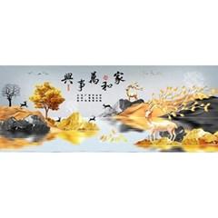 가화만사흥 3 (패브릭) 보석십자수 60x120