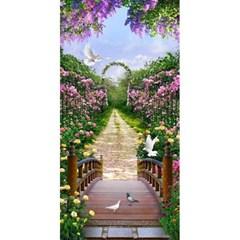 축복의 정원 (패브릭) 보석십자수 60x120