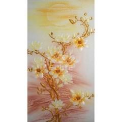황금목련 (패브릭) 보석십자수 65x130