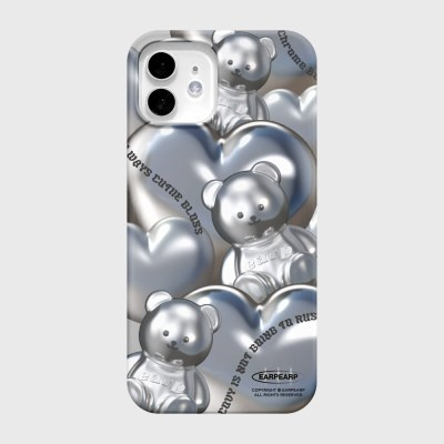 STEEL COVY HEART-GREY(하드)