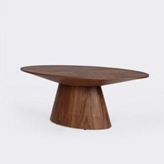 콘오벌월넛소파테이블