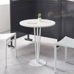 클래스가 다른 카페식 원형 2인용 티 테이블