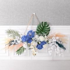 오션그로우갈란드 130cmP 조화 가랜드 꽃 장식 FMWGFT