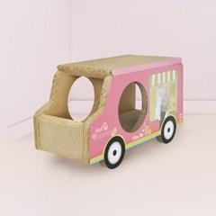 [룸펫] 고양이 숨숨집 스크래쳐 아이스크림 트럭