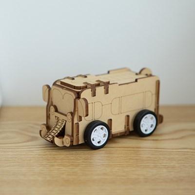 [코끼리 버스] DIY 어린이 코딩 조립 장난감