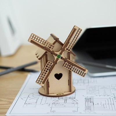 [빙글빙글 풍차] DIY 어린이 코딩 조립 장난감
