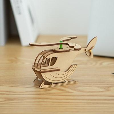 [흰수염고래 헬리콥터] DIY 어린이 코딩 조립 장난감
