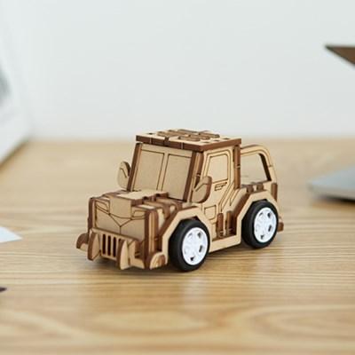 [호랑이 자동차] DIY 어린이 코딩 조립 장난감