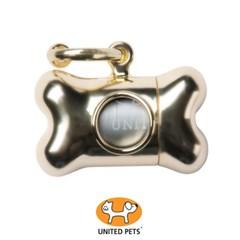 [룸펫] 강아지 똥추 유나이티드펫츠 배변봉투세트 Bonton nano chrom