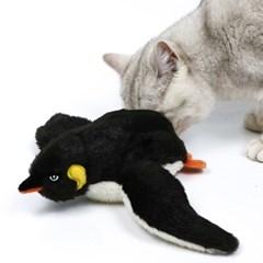펫케어 춤추는새 펭귄 움직이는 고양이 캣닢 자동 장난감