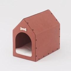 [코쿠모노] 빈티지 디자인 숨숨집 고양이 하우스 오픈형 입구