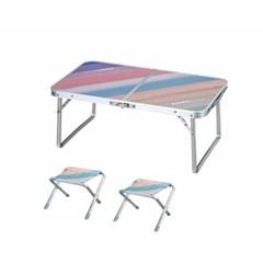 핸디 테이블 의자 세트