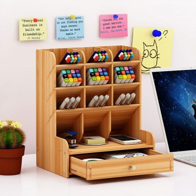 책상 소품 연필 펜 꽂이 필통 서류 보관 정리 함 필통