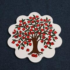 석류나무 냄비받침