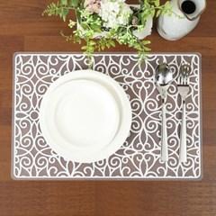 [탐] 실리콘 식탁 테이블 바닥 런치 매트