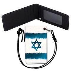 이스라엘 국기 목걸이카드지갑 카드목걸이