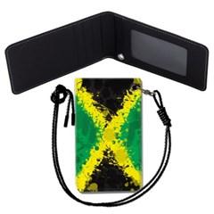 자메이카 국기 목걸이카드지갑 카드목걸이