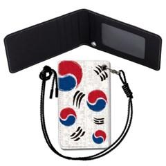 한국 국기 목걸이카드지갑 카드목걸이