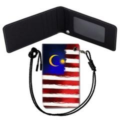 말레이시아 국기 목걸이카드지갑 카드목걸이