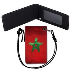 모로코 국기 목걸이카드지갑 카드목걸이