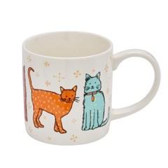 캣워크 고양이 머그 컵