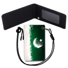 파키스탄 국기 목걸이카드지갑 카드목걸이