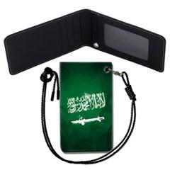 사우디아라비아 국기 목걸이카드지갑 카드목걸이