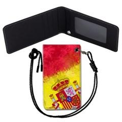스페인 국기 목걸이카드지갑 카드목걸이