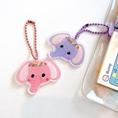 아기코끼리코코 아크릴키링