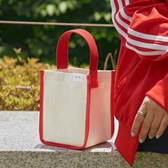포켓 산책 데일리 가방 (Red Color)