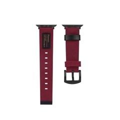 FENNEC C&S APPLE WATCH 40mm STRAP - SMOKE RED