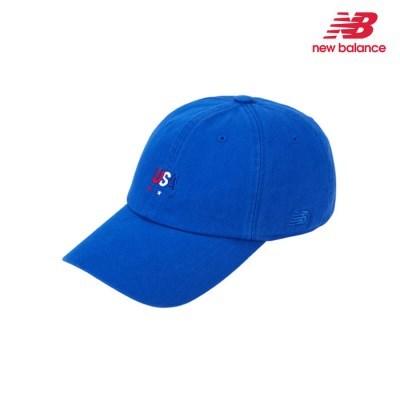 [뉴발란스] USA 엠보 소프트 볼캡 블루 NBGD9F0102-50
