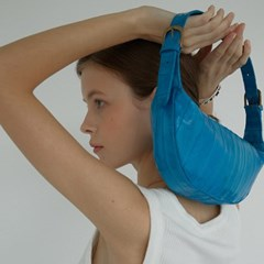 Croissant bag (크루아상 백) Turquoise