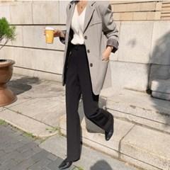 여성 자켓 재킷 퀄팅 캐주얼 아우터 메스지 체크