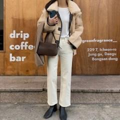 여성 자켓 재킷 퀄팅 캐주얼 아우터 양면 넘블 무스탕