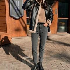 여성 자켓 재킷 퀄팅 캐주얼 아우터 양털 레더 무스탕