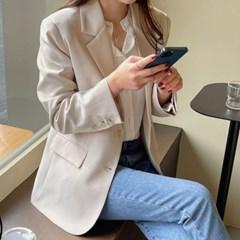 여성 자켓 재킷 퀄팅 캐주얼 아우터 에일 데일리 싱글