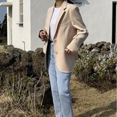 여성 자켓 재킷 퀄팅 캐주얼 아우터 호런 싱글