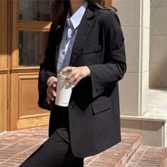 여성 자켓 재킷 퀄팅 캐주얼 아우터 비드 셋업 싱글