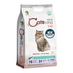 캣츠랑 전연령 5kg 고양이사료 길냥이 길고양이