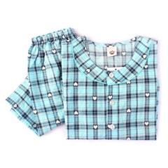 알콩단잠 남아 잠옷세트 코라 유아동 주니어 면 면 파자마 실내복
