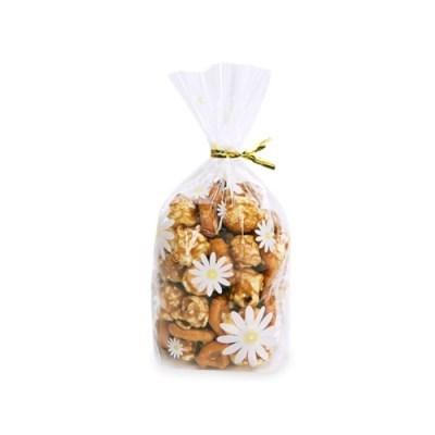 데이지 [소] 비닐봉투 (100개) + 골드타이 (100개)