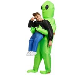 외계인 코스프레 에이리언 에어슈트 의상