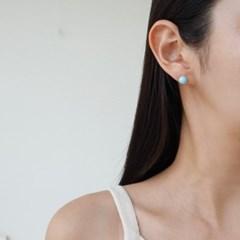 컬러볼 딱붙는 기본 심플 패션 E1208 귀걸이