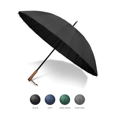 크로반 우드그립 자동 장우산 KR4A