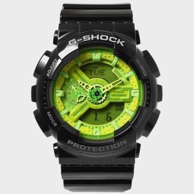 G-SHOCK 지샥 빅페이스 우레탄밴드 시계 GA-110B-1A3
