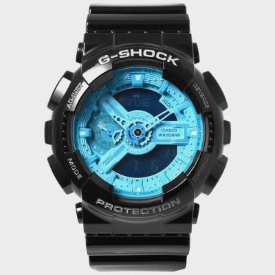 G-SHOCK 지샥 빅페이스 우레탄밴드 시계 GA-110B-1A2